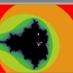 MandelBrot renderizzato in Unity con l'utilizzo di un sistema particellare