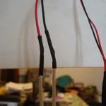 Risultato della giunzione dei cavi mediante saldatura a stagno
