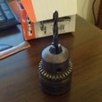 Mandrino con punta da 8mm: utile per la ripulitura dei fori dei pezzi in plastica.