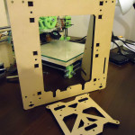 Prusa i3 mini frame laser cut, MDF 9mm ;)