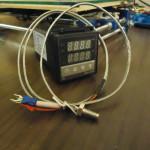 PID + termocoppia per la costruzione del filament extruder :)
