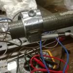 Resistenza a fascetta montata sul tubo