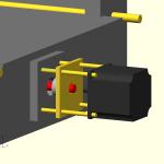 Per il motore dell'asse Y ci si comporta similmente a quello dell'asse X
