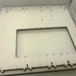 Prima struttura laser cut della mia nuova stampante.