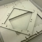 Quella sopra è il frame della Prusa i3. Tanto per farvi vedere quando sono grandi queste altre strutture :D