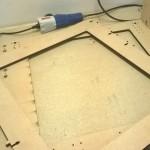 Preparazione e montaggio della struttura Laser Cut