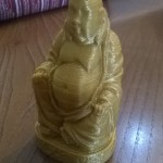 Buddha PLA Gold 9cm height 0.3mm LH nozzle 0.5mm