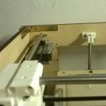 Angolari in metallo al posto di quelli in PLA che avevo stampato io