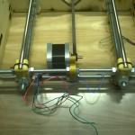 Posizioniamo la base della stampante (asse Y) come mostrato in foto