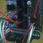 Colleghiamo il sensore della temperatura dell'hotend all'uscita T0 della ramps come da foto