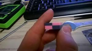 Una delle prime prove di stampa doppio colore