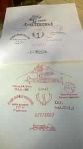 Quello nero in alto è il disegno originale (la fotocopia usata come base) quello rosso è disegnato dalla mia cnc