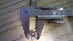 Measuring size... the hexagon have to be 14mm side to side
