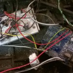 old wiring... a pain in the ass... a completely mess