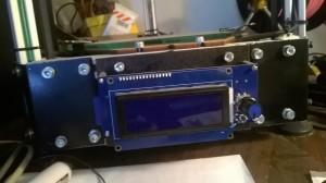Lo stato attuale dello pannello LCD... Troppo scoperto...