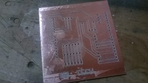 this is the second version of the pcb I have designed