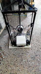 The delta kossel that I have to repair