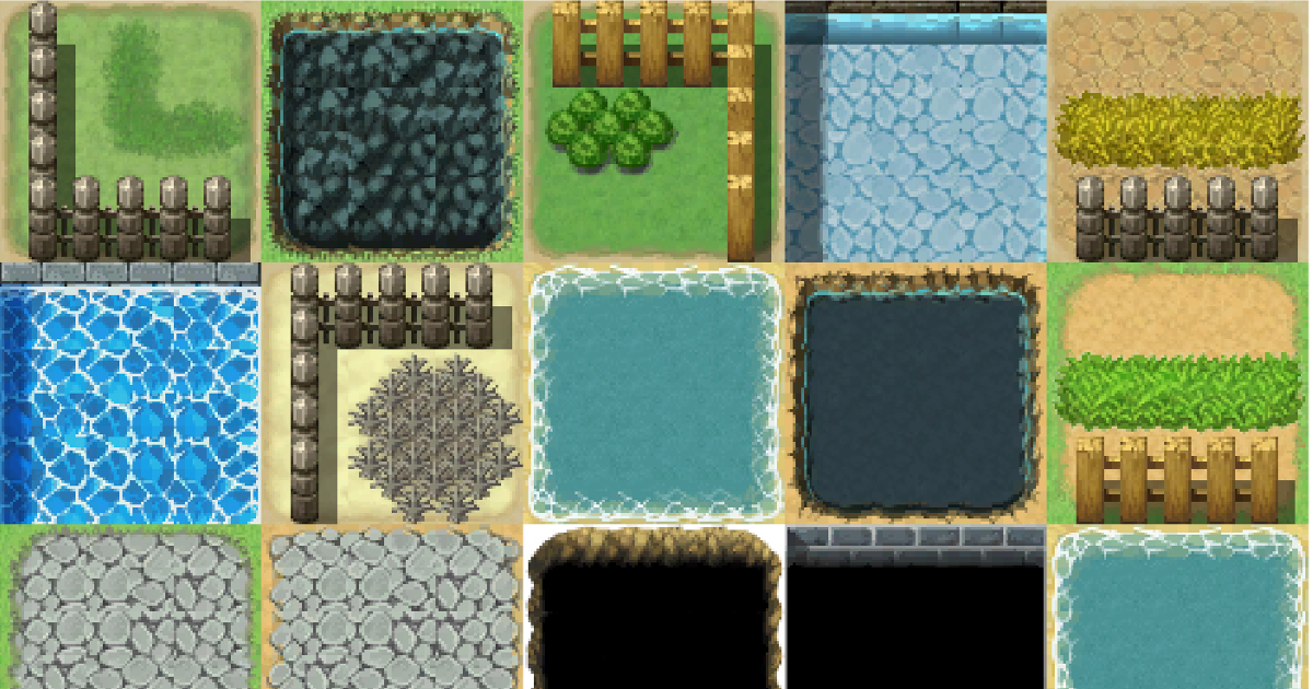 Unity3D RPG Maker Auto Tile Impoter
